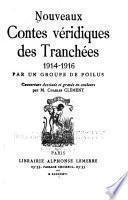 Nouveaux contes véridiques des tranchées, 1914-1916