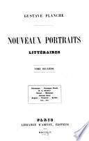 Nouveaux portraits littéraires