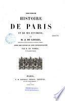 Nouvelle histoire de Paris et de ses environs
