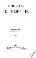Nouvelle revue de théologie