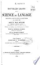 Nouvelles leçons sur la science du langage