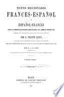 Nuevo diccionario Frances-Espan̂ol ...