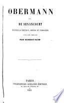 Obermann par de Sénancourt ...
