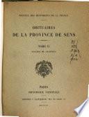 Obituaires de la province de Sens: Molinier, A. Diocèse de Chartres