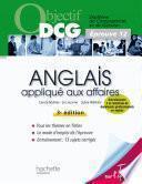 Objectif DCG Anglais appliqué aux affaires