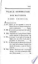 Observations sur l'histoire naturelle générale et particulière de Buffon et Daubenton