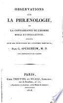 Observations sur la phraenologie