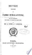 Oeuvres choisies de Fabre d'Églantine