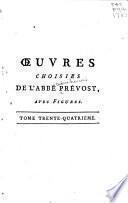 OEuvres choisies de l'Abbé Prévost, avec figures