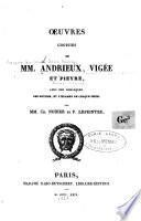Oeuvres choisies de mm. Andrieux, Vigée et Pieyre