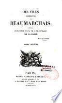 Oeuvres complétes de Beaumarchais