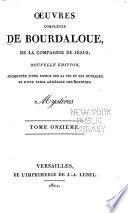 Oeuvres complètes de Bourdaloue, de la compagnie de Jesus