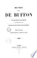 Oeuvres complètes de Buffon avec des Extraits de Daubenton et la classification de Cuvier