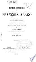 Oeuvres complétes de François Arago