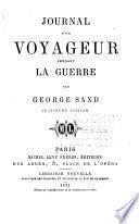 Oeuvres complètes de George Sand: Journal d'un voyageur pendant la guerre