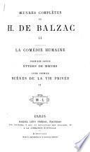 Oeuvres complètes de H. de Balzac ...: dixain: Prologue. Les trois clercs de Sainct-Nicholas. Le jeusne de Françoys premier