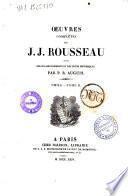 Oeuvres complètes de J.J. Rousseau avec des éclaircissements et des notes historiques par P.R. Auguis
