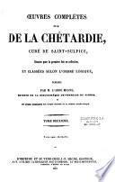 Oeuvres complètes de M. de la Chétardie, curé de Saint Sulpice