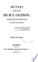 Oeuvres complètes de M. T. Cicéron