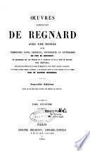 Oeuvres complètes de Regnard