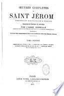 Oeuvres complètes de S. Jérôme