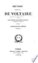 Oeuvres complètes de Voltaire, avec notes, préfaces, avertissemens, remarques historiques et littéraires ...