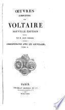 Oeuvres complètes de Voltaire: Correspondance avec les souverains
