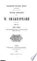 Oeuvres complètes de W. Shakespeare