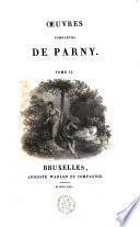 Oeuvres complètes /Parny, Evariste Désiré de Forges