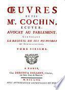 Oeuvres contenant le recueil de ses mémoires et consultations