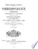 Oeuvres d'Alexandre de Humboldt : Correspondance inédite scientifique et littéraire recueillie et publiée par M. de La Roquette ... ; 2e Partie