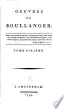Oeuvres de Boullanger