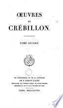 Oeuvres de Crébillon
