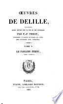Oeuvres de Delille