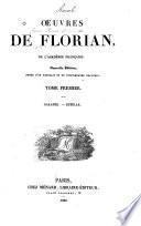 Oeuvres de Florian: Galatée. Estelle