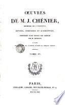 Oeuvres de J.Chenieu,4