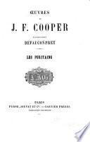 Oeuvres de J.F. Cooper: Les Puritains d'Amérique