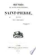 Oeuvres de Jacques-Henri-Bernardin de Saint-Pierre