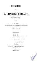 Oeuvres de M. Charles Brifaut