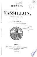 Oeuvres de Masillon, eveque de clermont