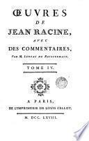 Oeuvres de Racine, 4