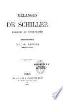 Oeuvres de Schiller