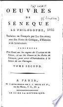 Oeuvres de Séneque le philosophe