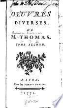 Oeuvres diverses de M. Thomas