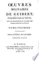 Oeuvres militaires de Guibert