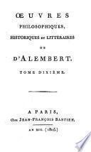 Oeuvres philosophiques, historiques et litteraires