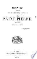 Oeuvres posthumes de Jacques-Henri-Bernardin de Saint-Pierre