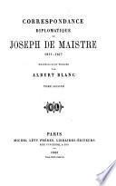 Oeuvres posthumes du comte Joseph de Maistre