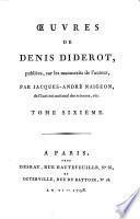 Oeuvres, publiees sur les manuscrits de l'auteur, Par Jacques-Andre Naigeon