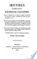 Oevres complètes d'Etienne Falconet
